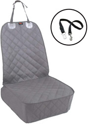 Waterproof Dog Car Seat Protective Cover for Cat Pet SUV Van Grey Rear Bench Pad $26.99
