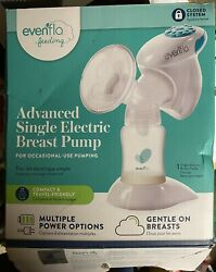 Evenflo Advanced Single Electric One Handed Breast Pump New But Opened Box $24.50