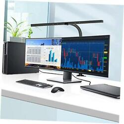 LED Desk Lamp 24 Watts Office Desk Lamps with Architect Clamp Workbench Black $104.90