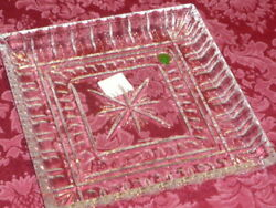EXQUISITE WATERFORD CRYSTAL O#x27;CONNELL TRAY * NEW * ORIGINAL BOX $59.00 1ST CLASS $59.00