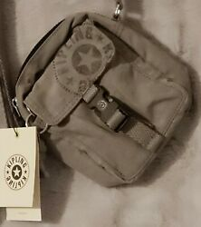 KIPLING 🐵 TEDDY 🐵 Small With Lots of Room Crossbody Bag Rapid Gray BRAND NEW $34.00