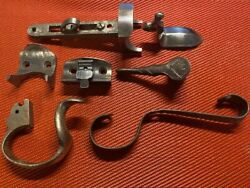 Vintage Parts Lot Forend Irons Levers Trigger Guards Engraved Latch amp; More $70.00