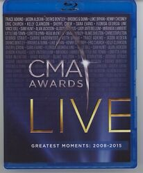 CMA Awards Live Greatest Moments 2008 2015 Blu ray 2020 LIKE NEW