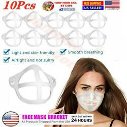 10Pcs 3D Mask Bracket Cool Turtle Insert Support Frame Comfortable Cover $4.74