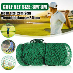 3M * 3M Golf Practice Net For Golfer Practicing Outdoor Small Space Garden Home $26.99