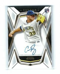 2019 Topps Five Star Corbin Burnes Brewers RC ON CARD Auto $24.99