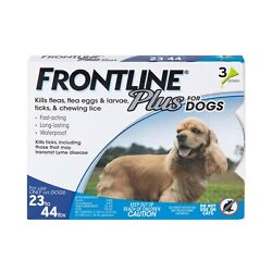 Frontline Plus for Dogs 23 44 lbs 3 Month $24.00