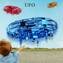 Mini Drone UFO Infrared Sensor Induction Aircraft Flying Toy for Kids Quadcopter $10.00