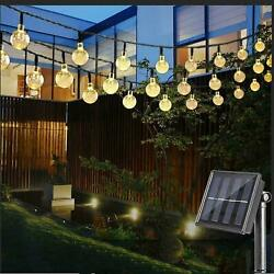 Outdoor String Lights Waterproof Commercial Patio Globe Fairy Light Bulbs 20ft