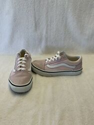 Vans Off The Wall Girls Pink white Shoes size 3 Y $18.00