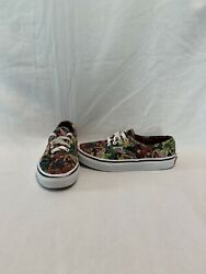 Vans Off The Wall Girls Marvel Super Heroes Shoes size 2.5 Y $18.00