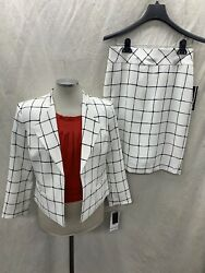 NINE WEST SKIRT SUIT NEW WITH TAG RETAIL$240 SIZE 16 LINED SKIRT LENGTH 24quot; $109.99
