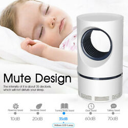 Bedroom USB Mosquito Killer Lamp Electric Pest Repeller Zapper Insect Trap $6.64