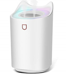 Cool Mist Humidifiers for Bedroom USBSIXKIWIEasy Clean Top Fill Never 20hrs $42.68