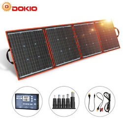 160W Portable Foldable Solar Panel With USB For Phone Power staion RV Camping $169.99