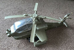 HM Armed Forces Green Army Attack Apache Helicopter Awesome Collectable Toy Rare GBP 36.99