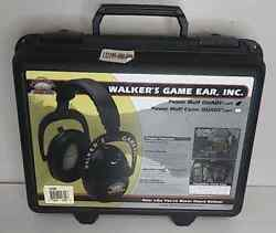 Walkers Game Ear Shooting Power Muff Quads with AFT Black $49.95