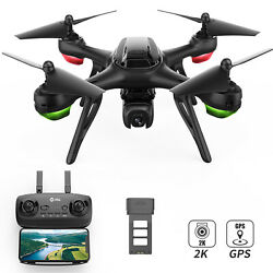Holy Stone HS130D GPS FPV Drone with 2K FHD Camera 2.4G RC Quadcopter Follow Me $60.99