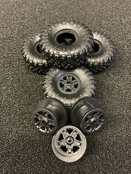MN90 Tires And Wheels Also Fit WPL JJRC USA Ship $15.99