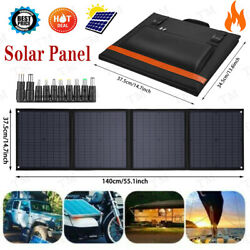 100 Watt 12 Volt Portable Foldable Solar Panel Suitcase Battery Charger for RV.. $169.99
