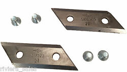 GENUINE ALKO REPLACEMENT BLADES 103264 FOR ELECTRIC COMPOST SHREDDERS MULCHERS $49.63