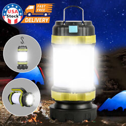 USB LED lantern rechargeable Light Camping Emergency Outdoor Hiking Lamps USA $15.99