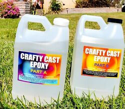 Crystal Clear. Super Gloss arts and crafts epoxy resin 1 Gallon Kit $47.89