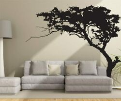 WALL TREE STICKER DECAL BLACK VINYL ART HOME ROOM DECOR LARGE MURAL REMOVABLE $69.99