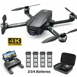 Holy Stone HS720E 4K EIS Camera Drone GPS Quadcopter Brushless 2 3 4 Batteries $309.95