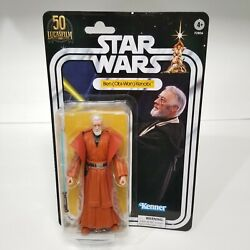 STAR WARS THE BLACK SERIES LUCASFILM 50TH BEN OBI WAN KENOBI AMAZON EXCLUSIVE $33.49