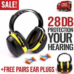 Noise Cancelling Ear Protection Muffs Hearing Shooting Safety Noise Reduction $18.99