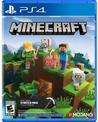 New Sealed Minecraft For PS4 $27.95
