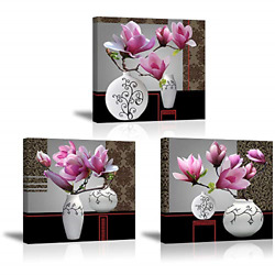 Flower Wall Art Decor for Bedroom SZ Still Life Canvas Prints of Pink Orchid amp; $47.30