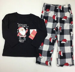Boys Christmas Pajamas Size 3T Jammies For Your Families. Let's Get Jolly Santa $16.91