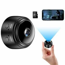 Mini Camera with 32G SD Card Wireless WiFi Small Camera 1080P HD Home Securit... $41.21