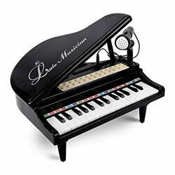Rabing Piano Toy Keyboard for Kids 31 Keys Toy Piano with Microphone Multiple $46.91