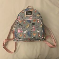 Loungefly Disney Cats amp; Yarn Ball Women#x27;s Double Strap Mini Backpack