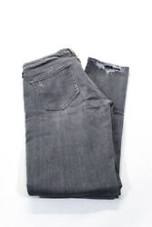 Citizens of Humanity Womens Low Rise Racer Skinny Jeans Gray Size 31 $39.99