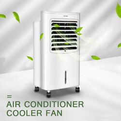 8L Portable Air Fan Air Cooler Evaporative Water Humidifier Wind Timer Room US $39.99