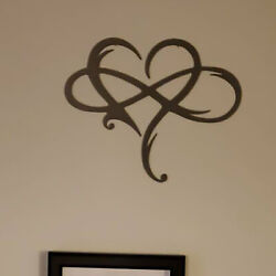 Art Style Wall Metal Metal Love Heart Wall Hanging for Home Decor Useful $20.01