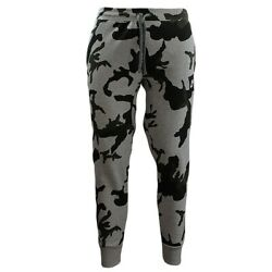 Nike Camouflage Men#x27;s Sweatpants Sport Jogging camo Jogger Fitness NEW