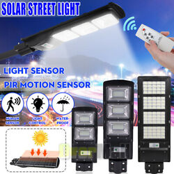 9900000 Commercial LED Solar Street Light Outdoor SecurityRemotePole Road Lamp