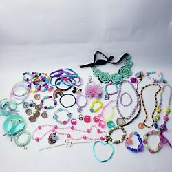 Kids PLAY JEWELRY DRESS UP PRETEND MIXED LOT mlp bracelets necklaces rings