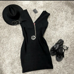 NWT little black dress sz M