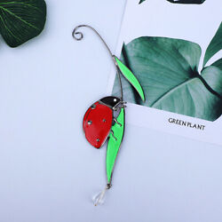 Ladybug Stained Alloy Window Hanging Decorative Home Decor Outdoor Orname Co $9.87