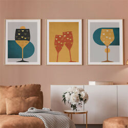 Canvas Abstract Wall Art Prints Living Room Bedroom Marble Effect Posters A4 3 $13.59