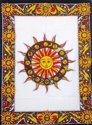 40*30quot; Sun Moon amp; Star Indian Tapestry Wall Hanging Living Room Decor Hippie Art $8.98