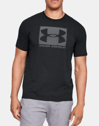 New With Tags Under Armour Men#x27;s Logo Tee Top Athletic Muscle Gym Shirt $18.79