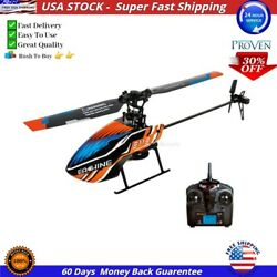 Easy To Use Eachine E119 2.4G 4CH 6 Axis Gyro Flybarless BEST RC Helicopter RTF $97.90