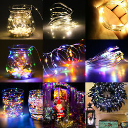 20LED Battery Micro Rice Wire Copper Fairy Strings Lights Tree Christmas Party $9.78